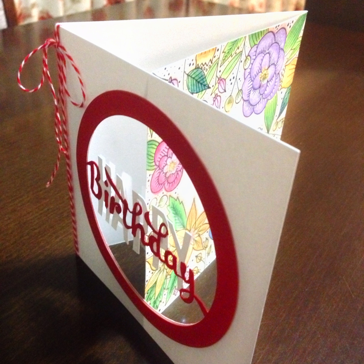 Tri-fold Window Card